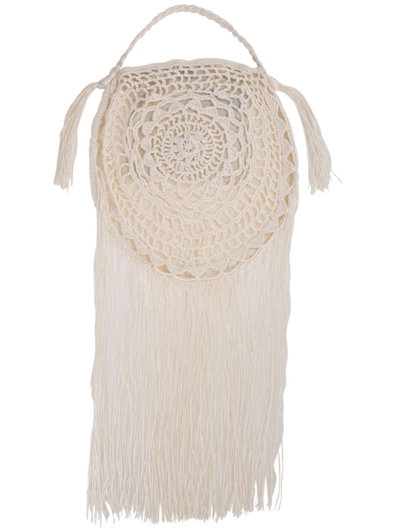 Alanui Shoulder Bag - Ivory