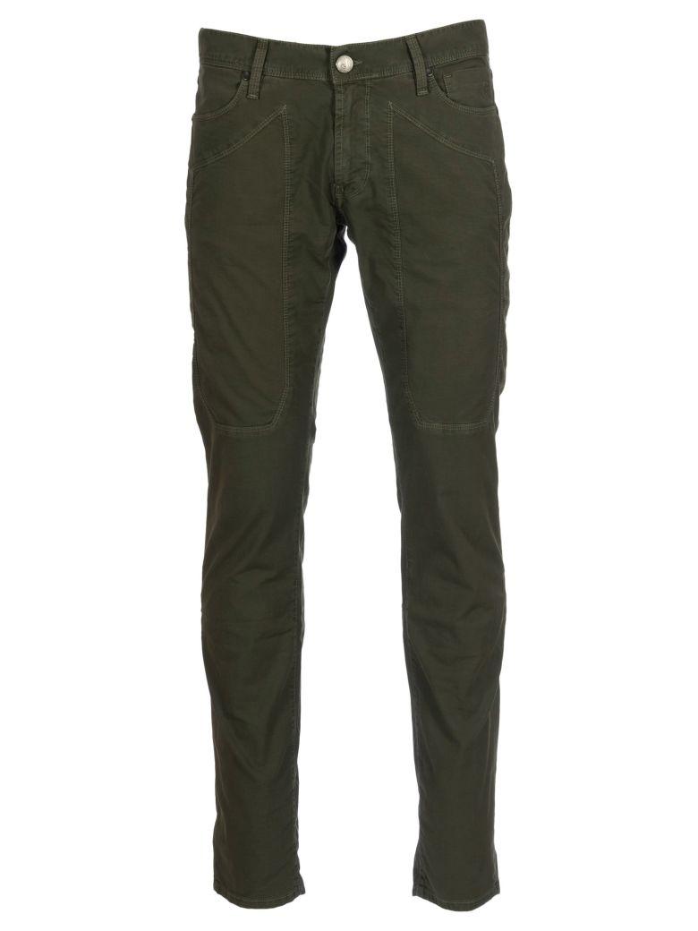 Jeckerson Cotton Pants - Verde-militare