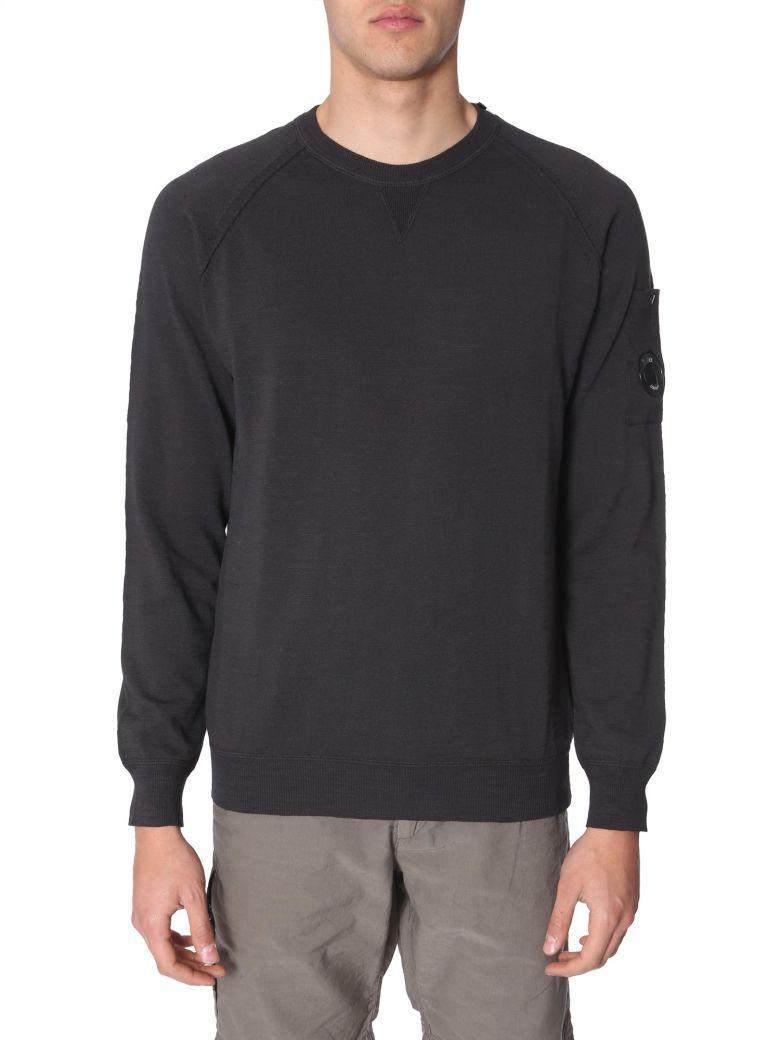 C.P. Company Crew Neck Sweater - NERO