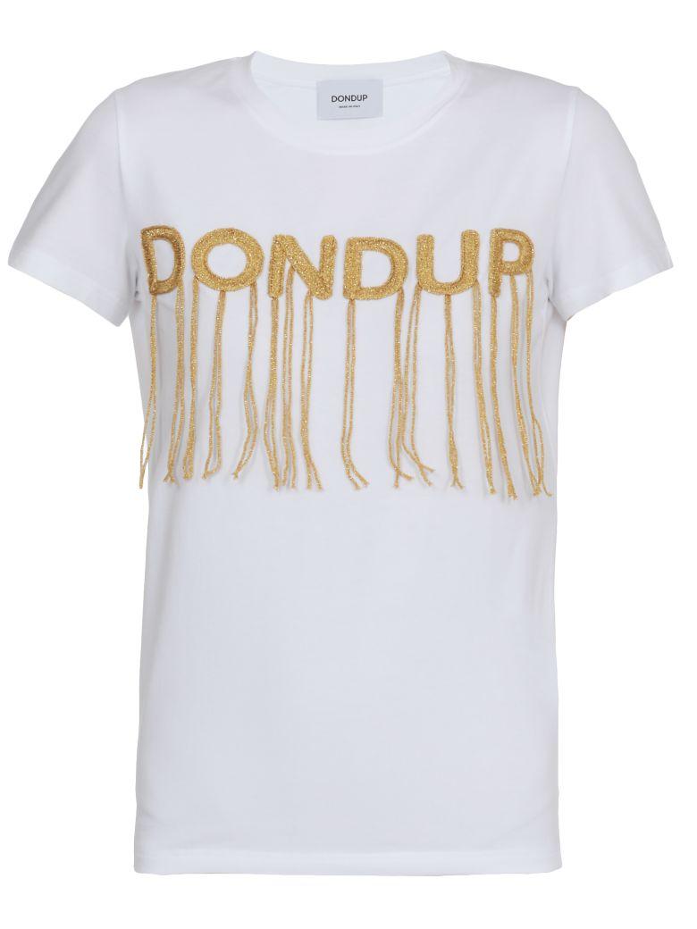 Dondup Cotton T-shirt - WHITE