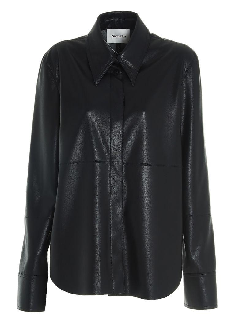 Nanushka 'naum' Shirt - Black