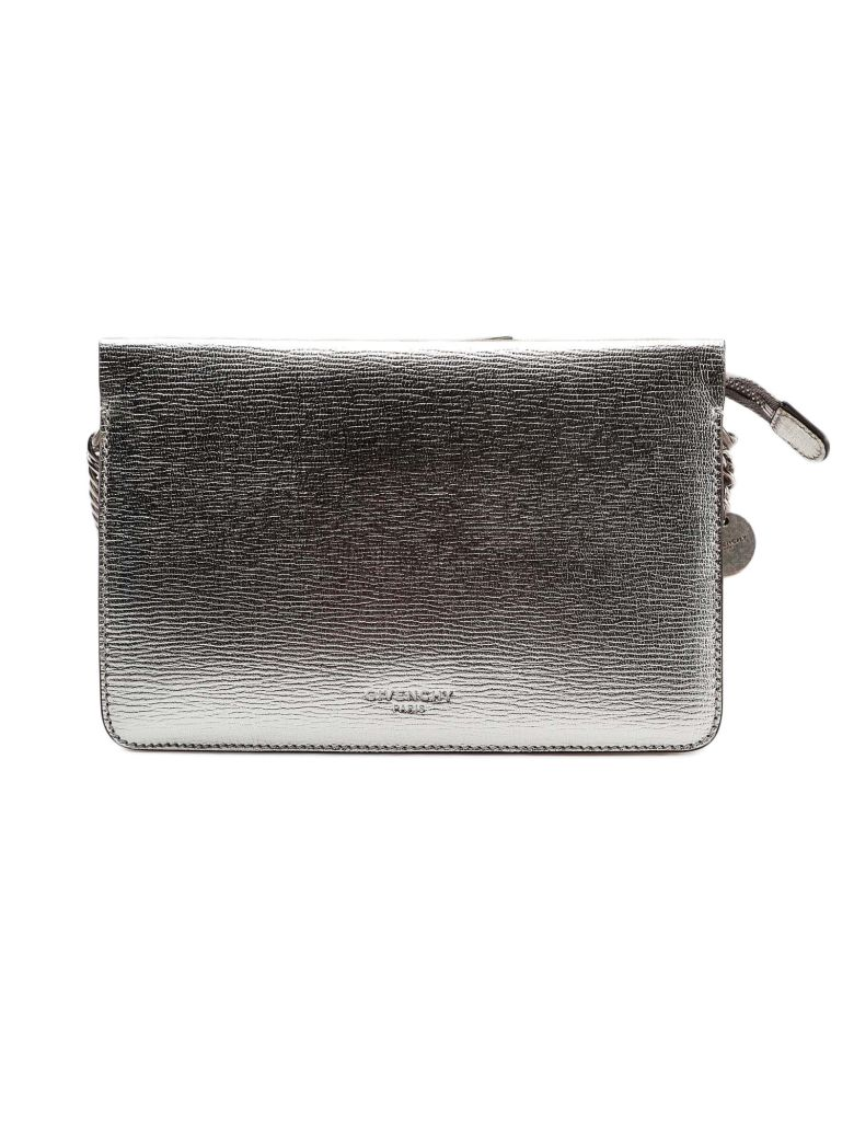 Givenchy Cross3 Shoulder Bag - Silver/natural