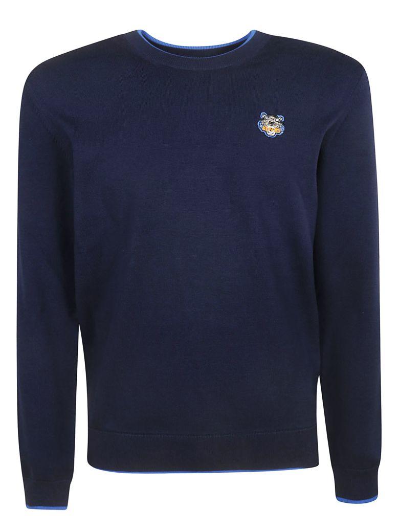 Kenzo Tiger Logo Sweater - Blue