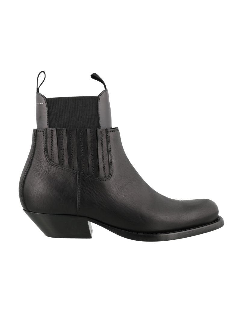 MM6 Maison Margiela Ankle Boots - Black