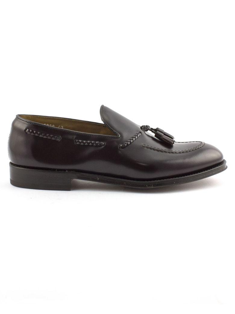 Doucal's Brown Semi-glossy Leather Loafer - Testa Di Moro