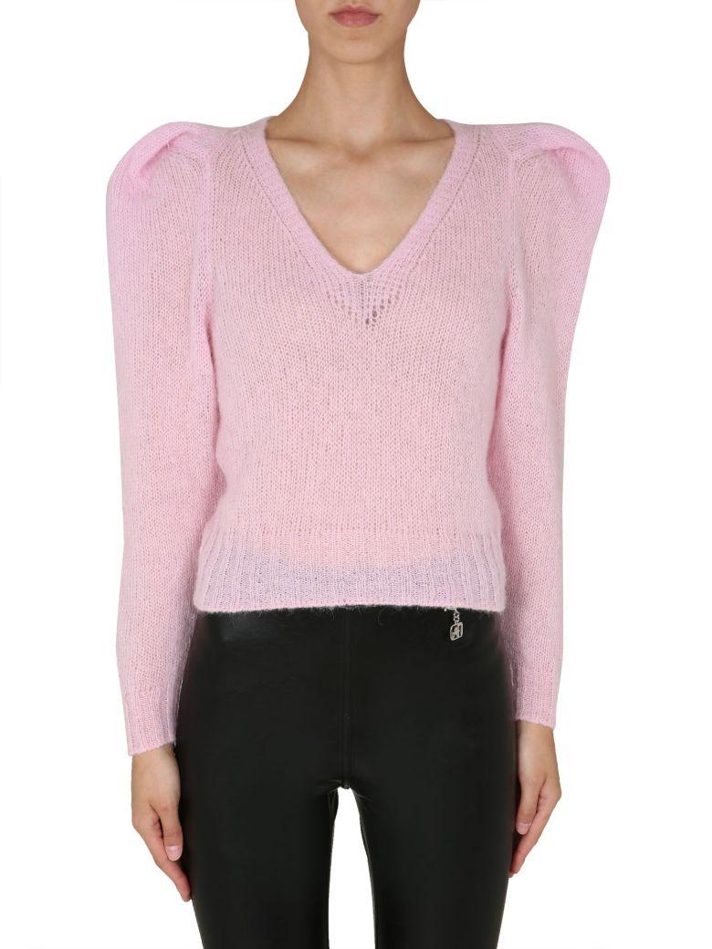 Philosophy di Lorenzo Serafini V-neck Sweater - ROSA