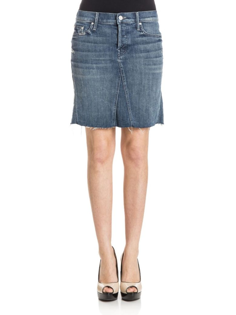 Mother - Skirt - Denim