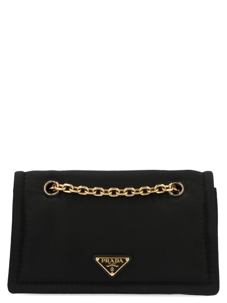 Prada 'piattina' Bag - Black