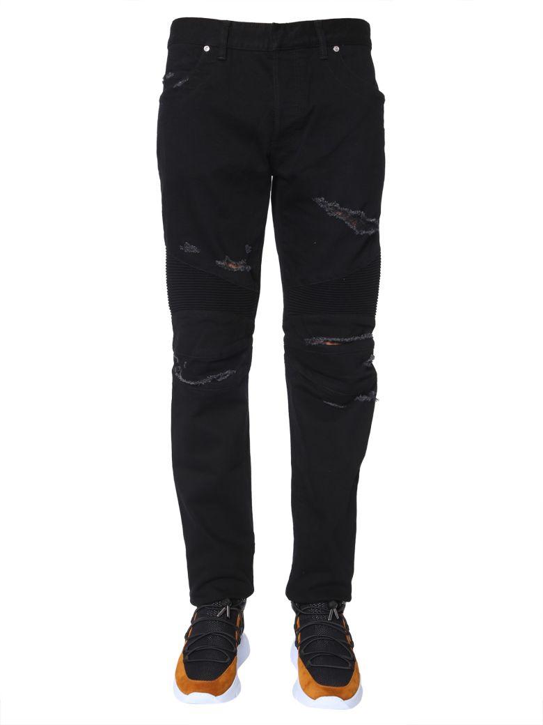 Balmain Biker Jeans - NERO