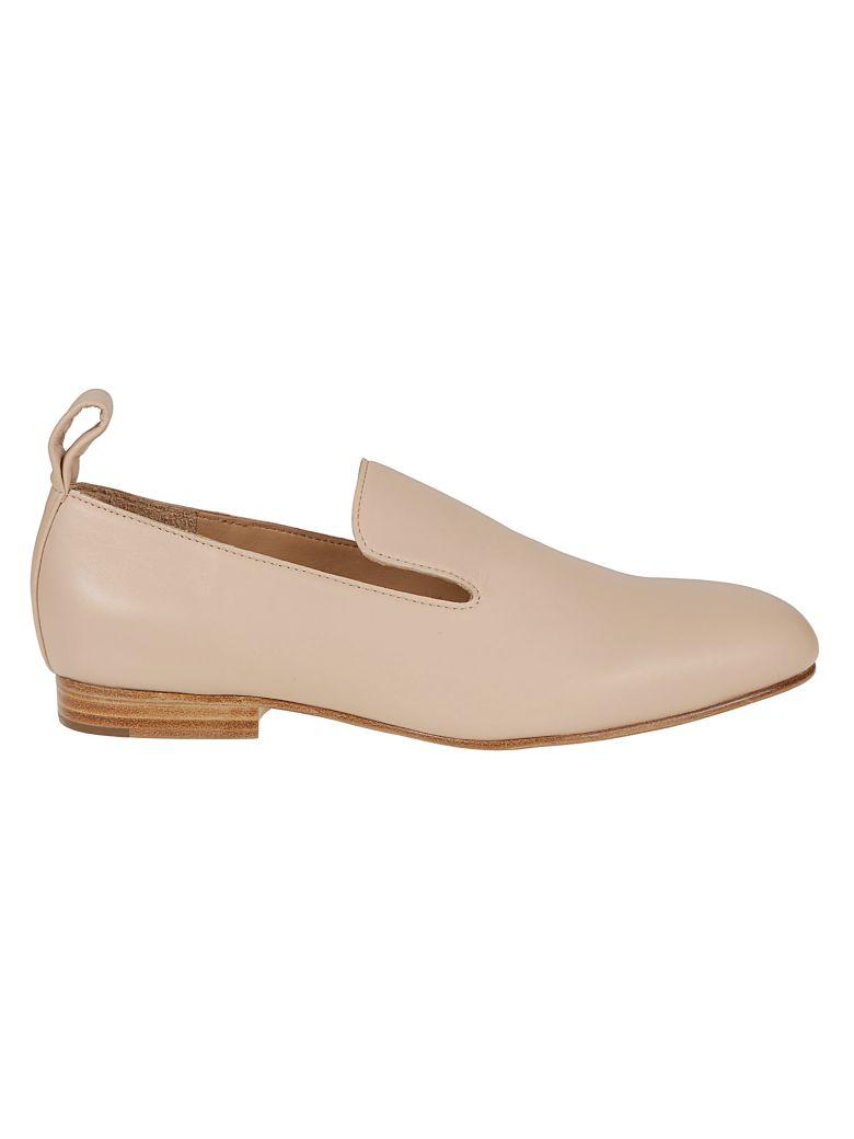 Jil Sander Navy Classic Loafers - Basic