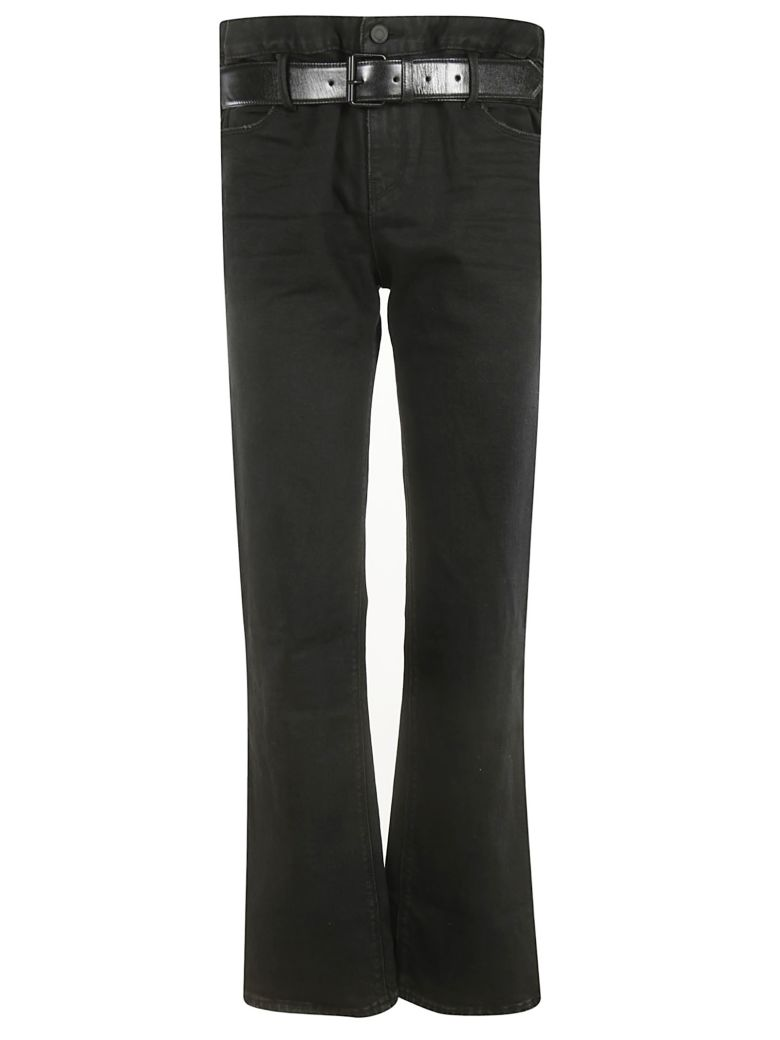 RTA Straight Leg Jeans - Havana Black