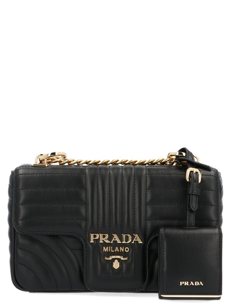 Prada 'diagramme' Bag - Black