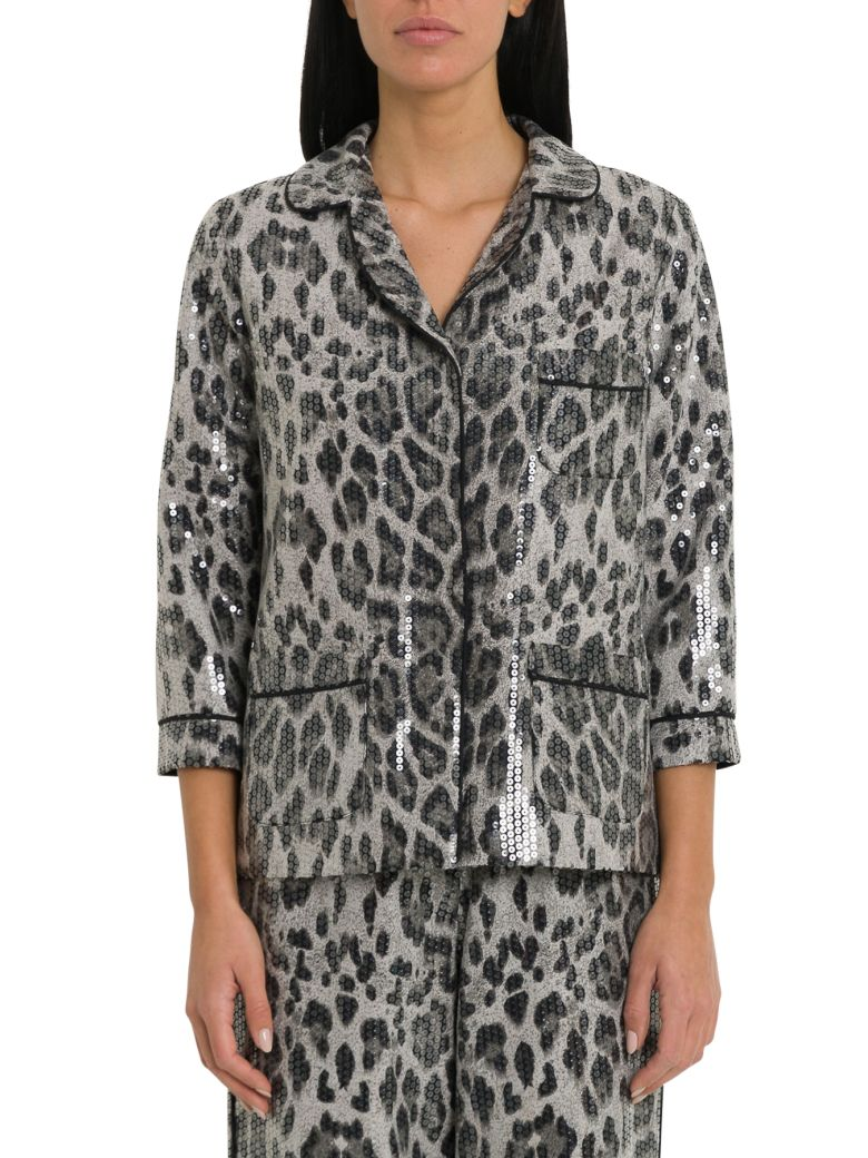 In The Mood For Love Sofia Pyjama Blazer - Grigio