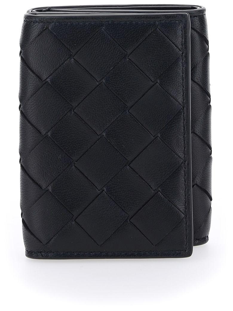 Bottega Veneta Wallet - Black-gold