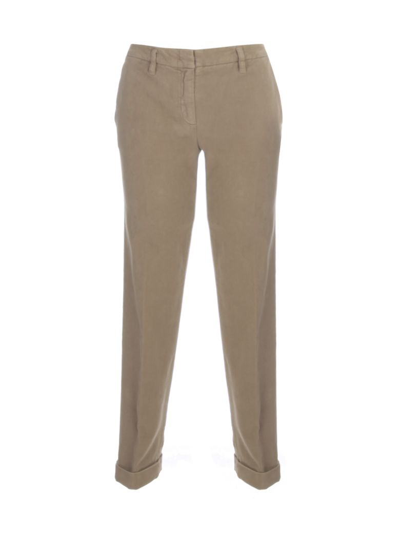 Aspesi Straight Stretch Pants - Tahin