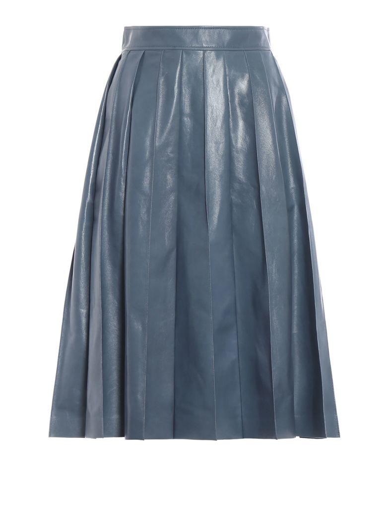Bottega Veneta Varnished Full Skirt - Tweedia