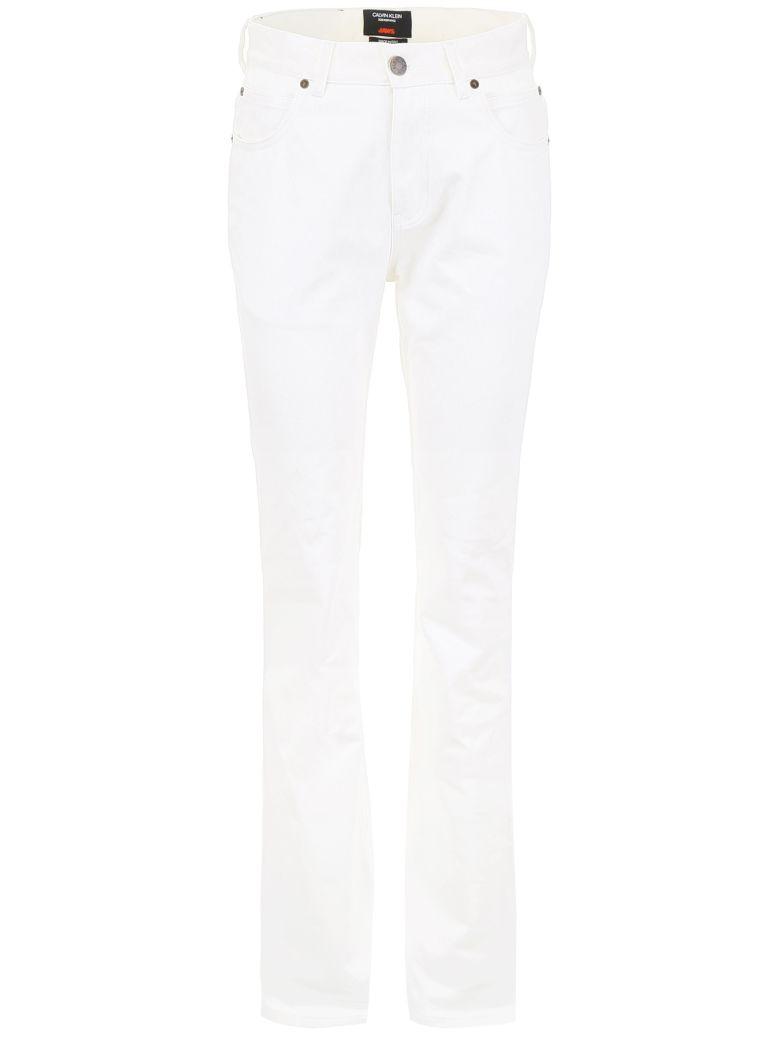 Calvin Klein Jaws Five Pockets Jeans - WHITE (White)