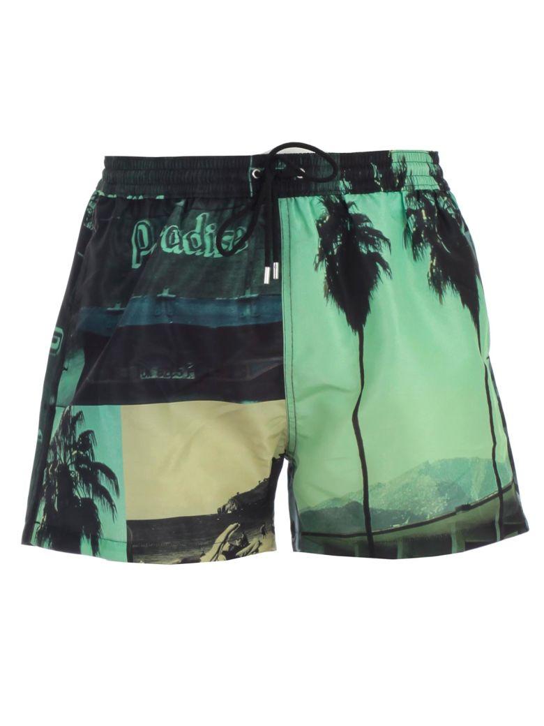 Paul Smith Costume Shorts - Green