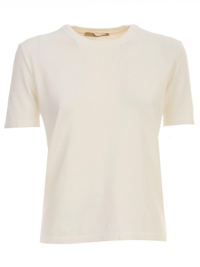 Nuur Viscose T-shirt S/s Crew Neck - Naturale