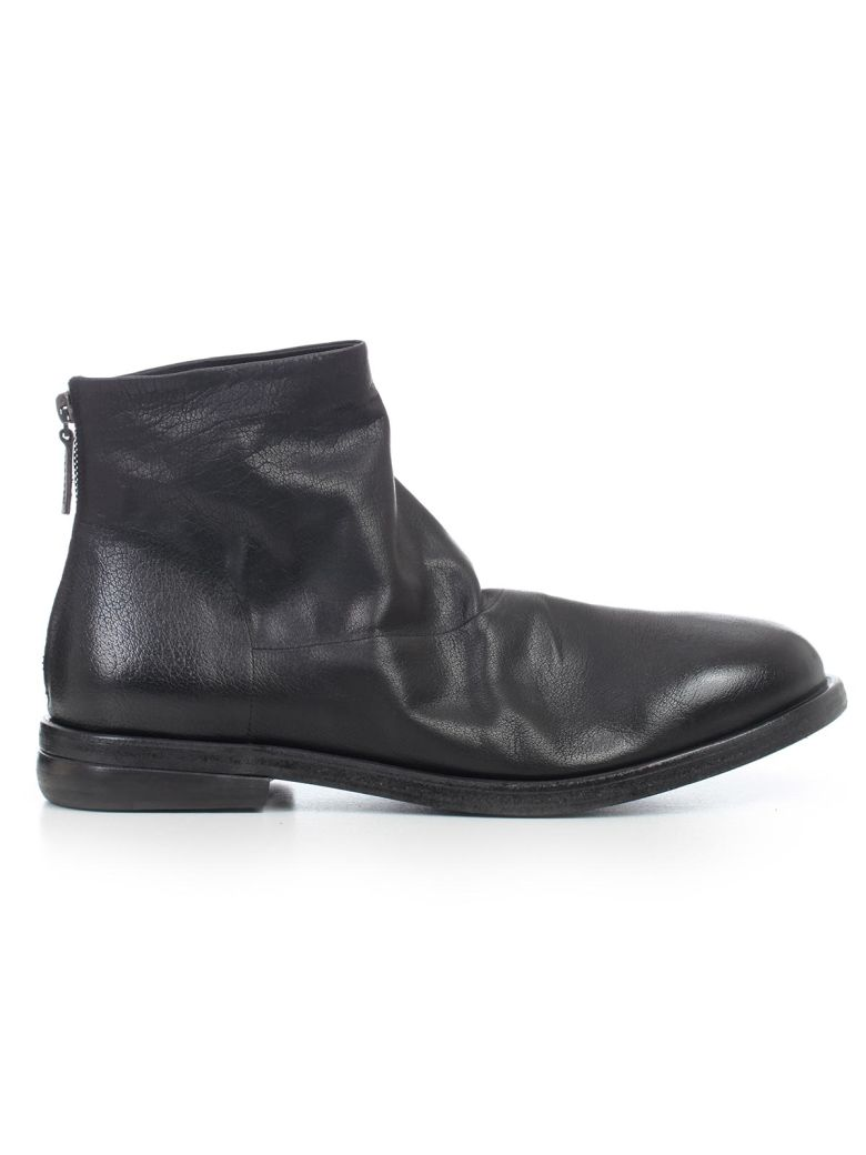 Marsell Zipped Ankle Boots - Nero