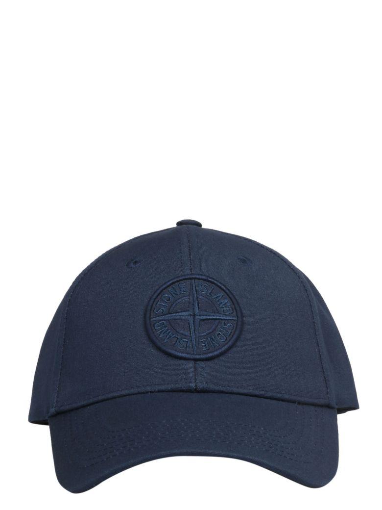 Stone Island Embroidered Baseball Cap - Basic