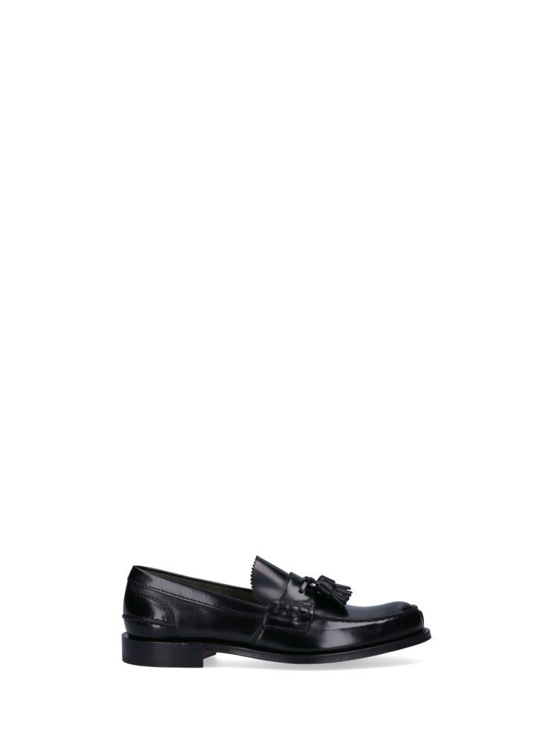 Church's Tassel Detail Loafers - Black