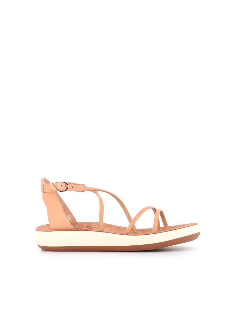 "Ancient Greek Sandals Mules  ""anastasia"" - Beige"