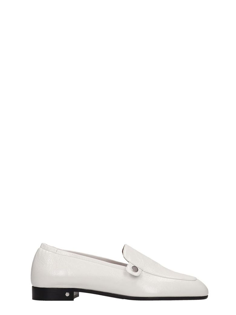 Laurence Dacade Loafers In White Leather - white