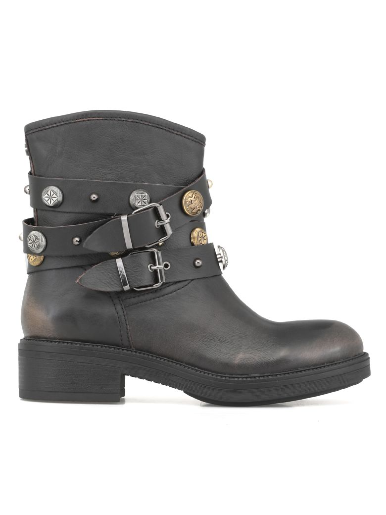 Cult Who Mid 2510 Boot - BLACK