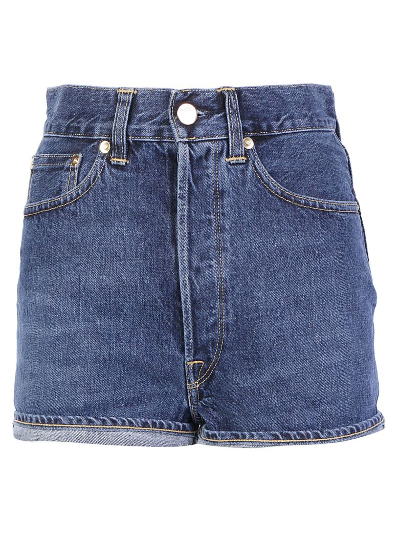 Golden Goose Judy Shorts - Dark blue wash