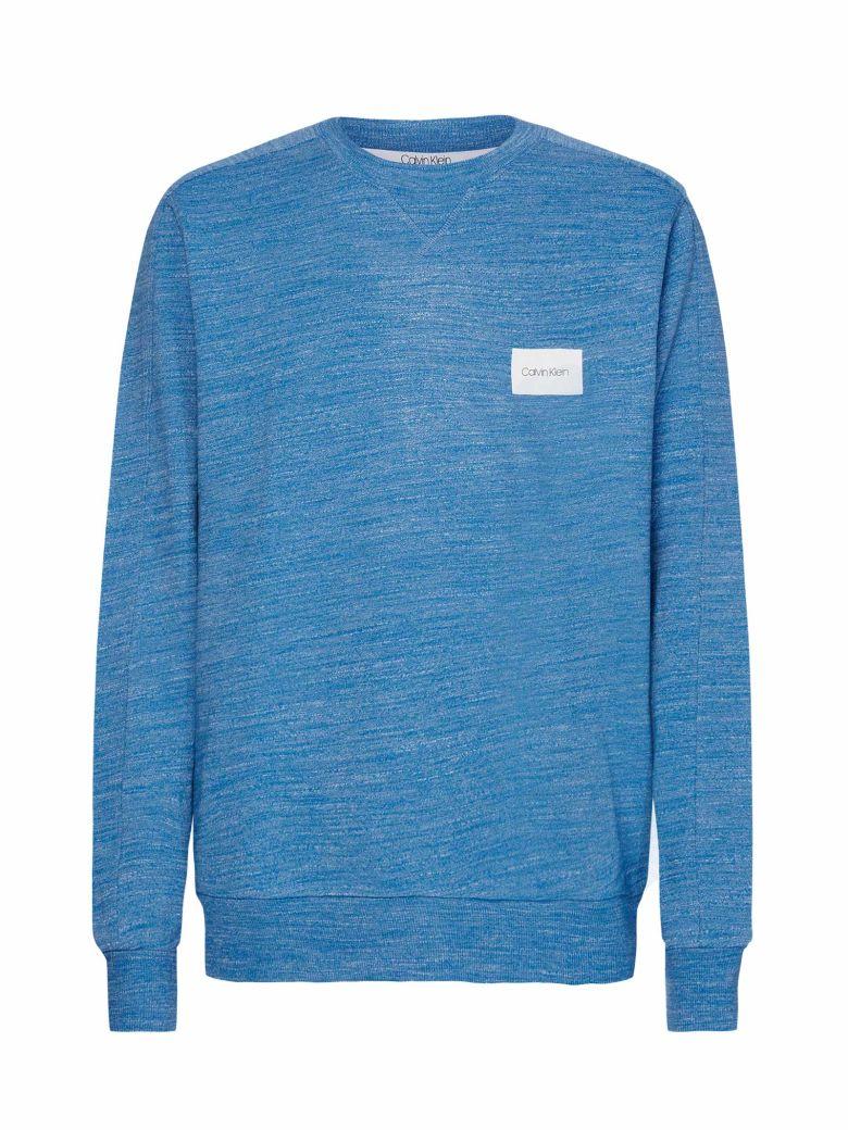 Calvin Klein Calvin Klein Logo Patch Sweater - Blu