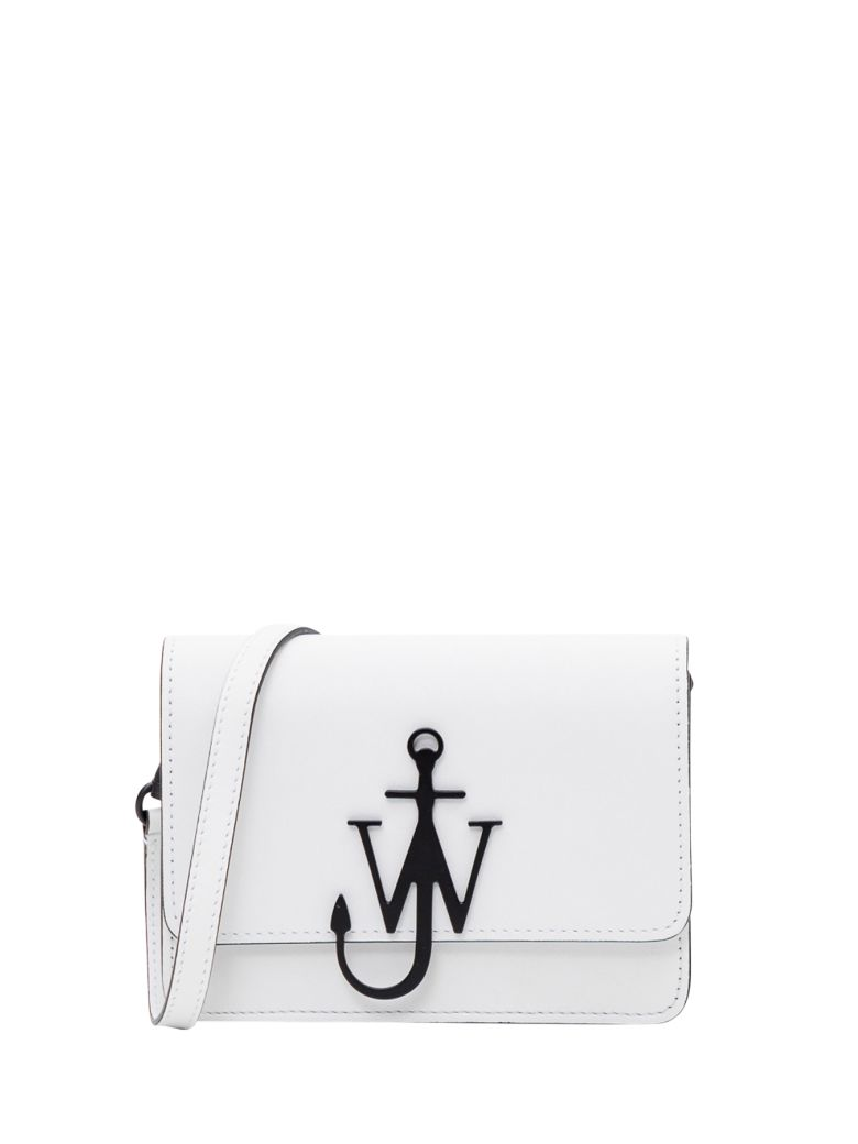 J.W. Anderson Anchor Logo Crossbody Bag - Bianco