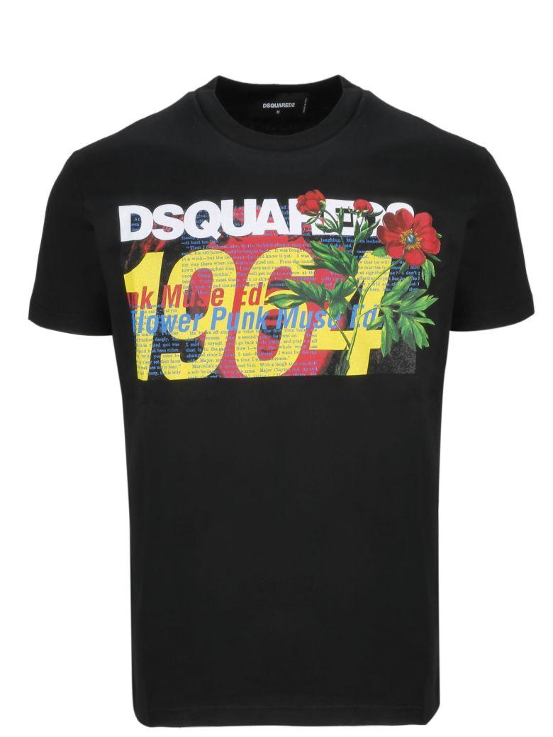 Dsquared2 Logo Print T-shirt - Basic
