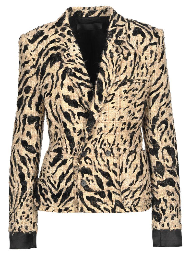Haider Ackermann Haider Ackermann Leopard Pattern Blazer - SPOTTED + BLACK