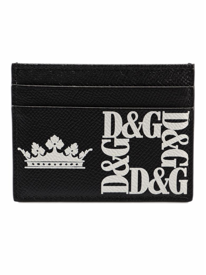 Dolce & Gabbana Crown Cardholder - Black