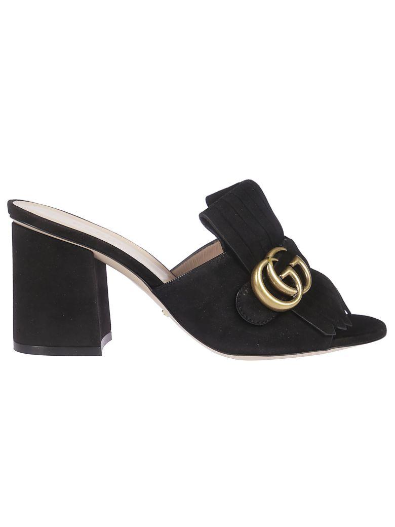 Gucci Mid Heel Sandals - black