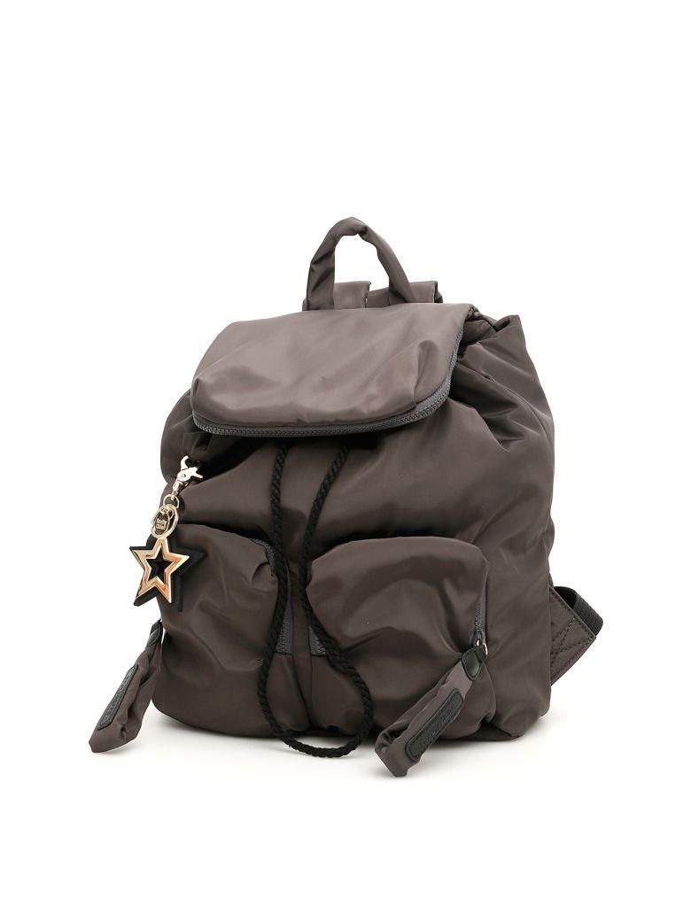 See by Chloé Large Joy Rider Backpack - MINIMAL GREY|Grigio