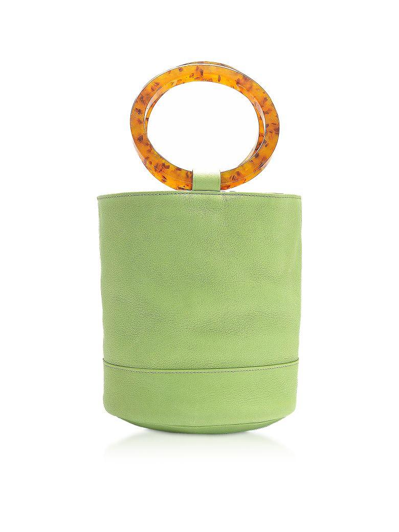Simon Miller S804 Leather Bonsai 20 Cm Bag - Lime