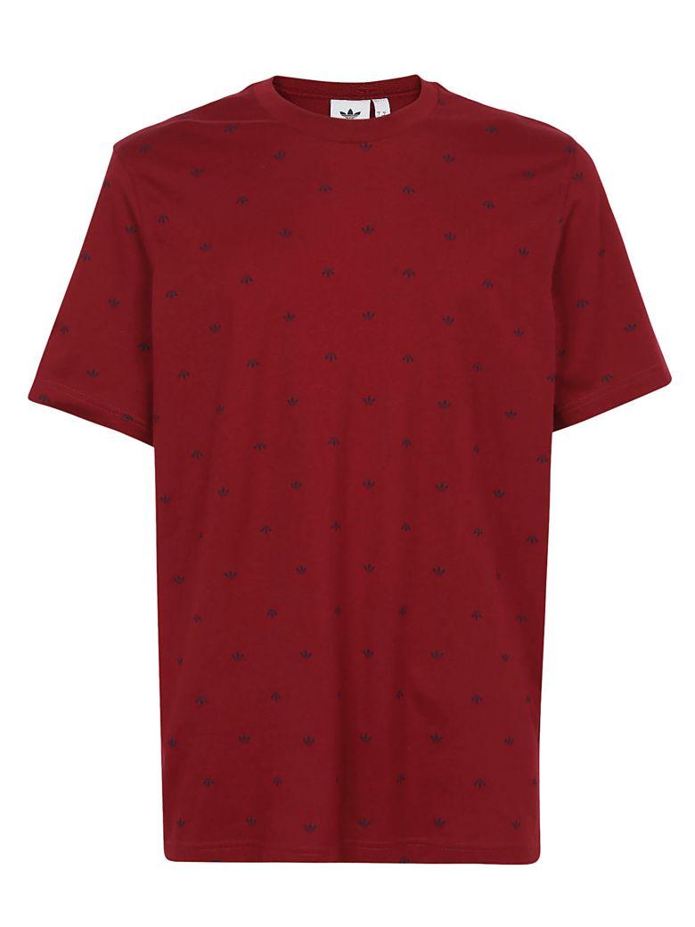 Adidas T-shirt - Collegiate burgundy