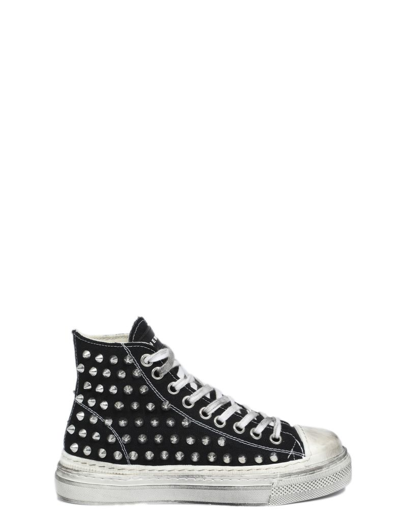 Gienchi J.m. High Iniet Double Sole - Nero canvas