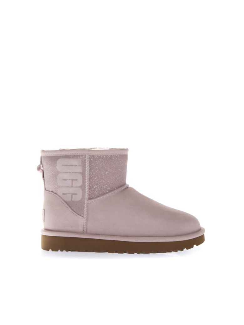 UGG Pink Classic Suede Boots - Pink