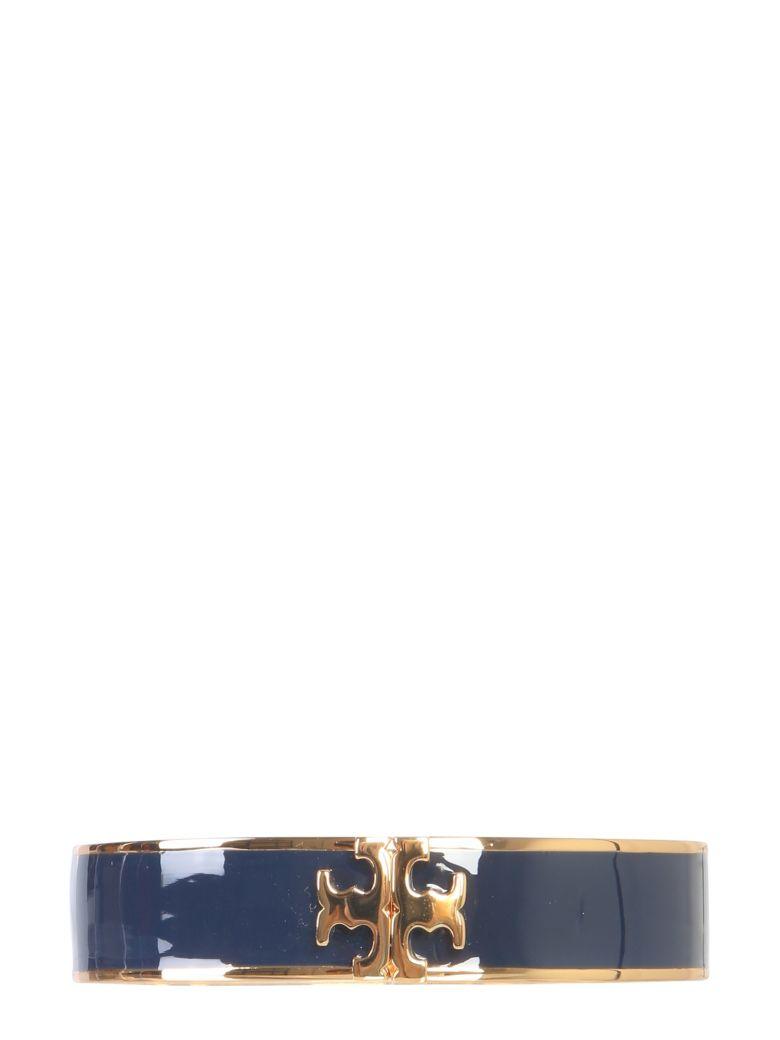Tory Burch Bracelet With Hook And Enameled Logo - BLU
