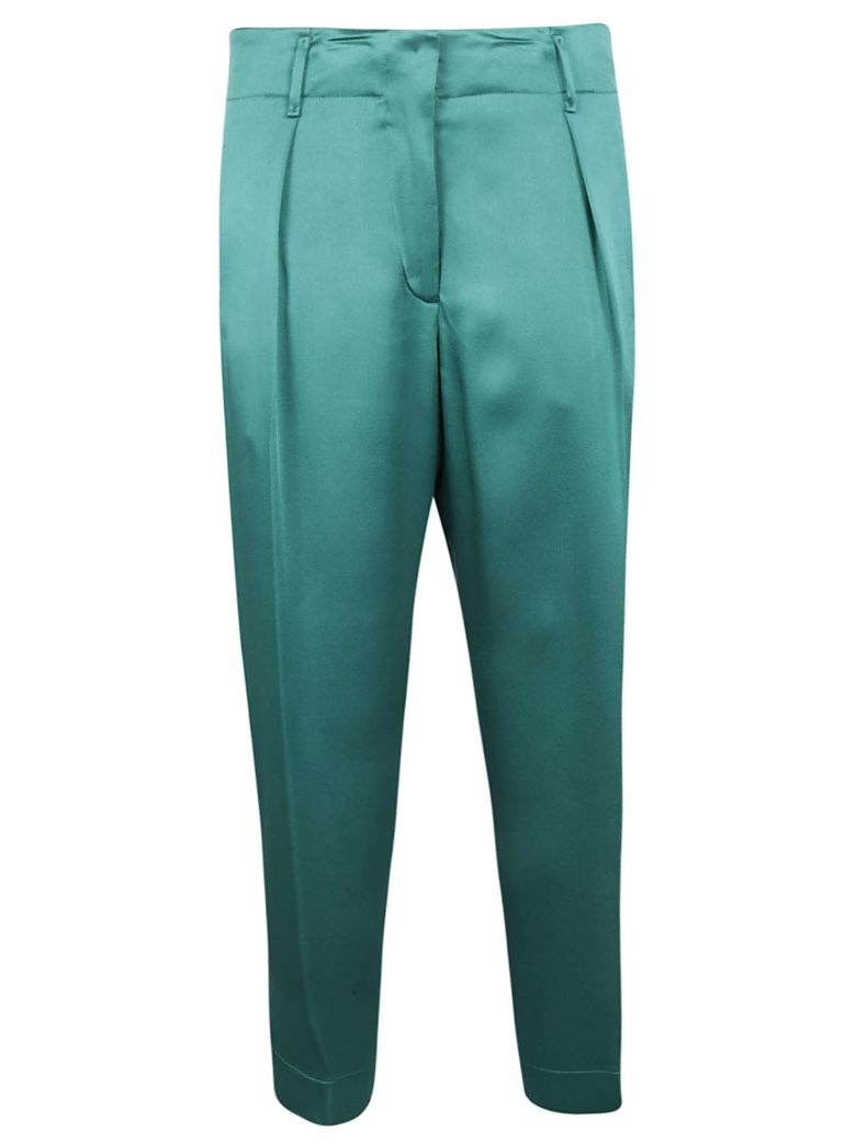 Forte_Forte Forte Forte Cropped Trousers - Peacock