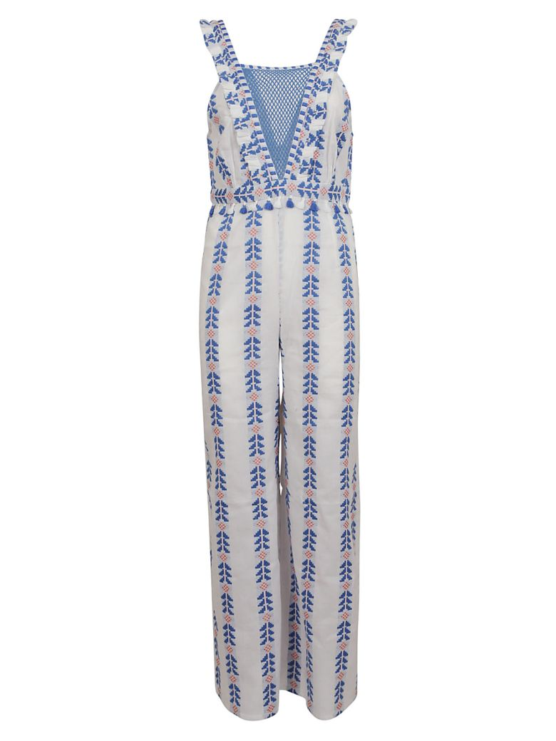 Dodo Bar Or Embroidered Detail Long Jumpsuit - Basic