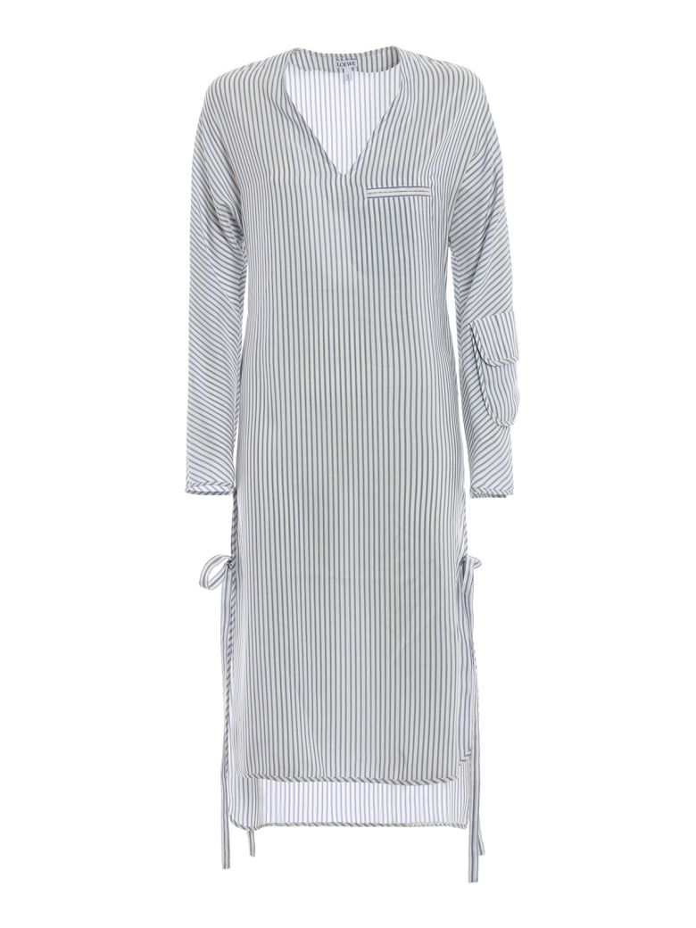 Loewe Striped Shift Dress - Basic
