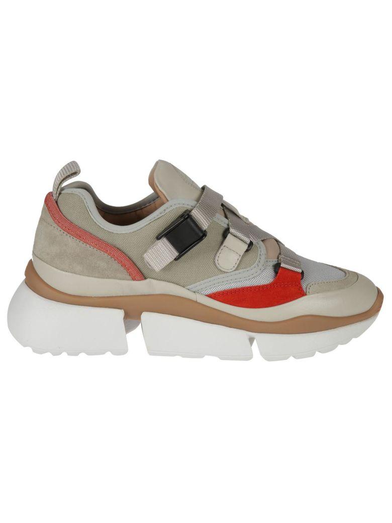 Chloé Sonnie Sneakers - Light eucalyptus