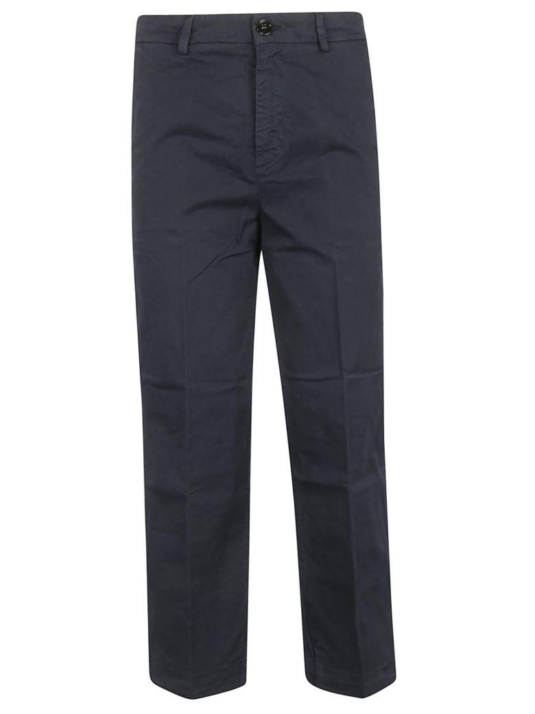 True Nyc Straight Leg Trousers - Blu Notte