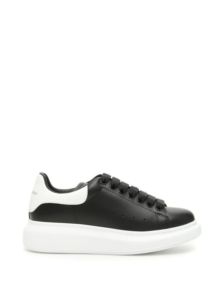 Alexander McQueen Oversize Sneakers - BLACK WHITE (Black)
