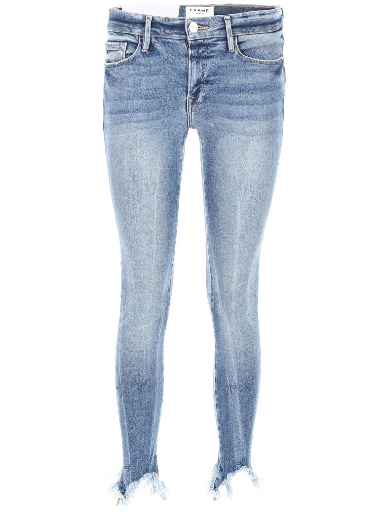 Frame Le Skinny De Jeanne Jeans - DUPONT (Blue)