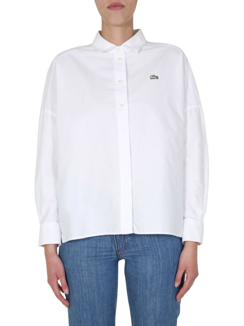 Lacoste Oversize Fit Shirt - BIANCO